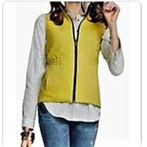 New  CAbi Travel Fitted Reversible Quilted Vest